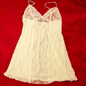DKNY Lace Panelled Chemise